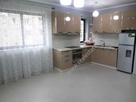 One bedroom apartment for rent close to Besnik Sykja High school in Tirana.