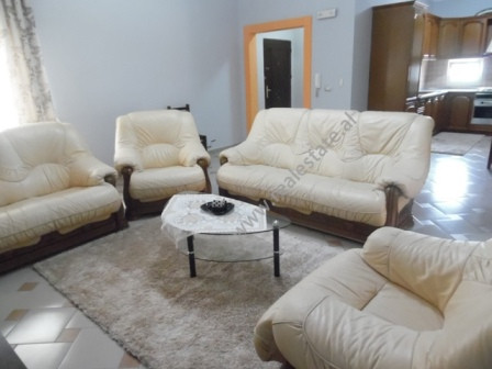 Two bedroom apartment for rent close to Petro Nini High School in Tirana. It is situated in 5th flo