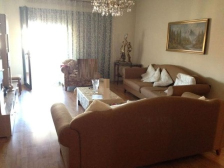 Apartment for sale in Bllok area , Ibrahim Rugova street in Tirana. The building is well known and