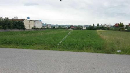 Land for sale close to Qtu, in Tirana-Durresi Highway. The land has a surface of 3000 m2. It