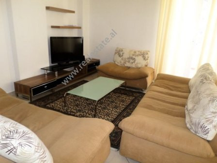 Two bedroom apartment for rent in Kodra e Diellit residence in Tirana. The apartment is situa