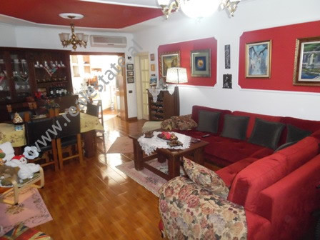 Apartment for rent in Bilal Golemi street in Tirana. The apartment is situated on the 8-t flo