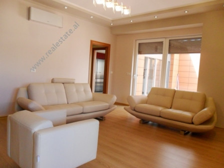 Modern apartment for sale in Bogdaneve Street in Tirana. It is situated on the 6-th floor in a new