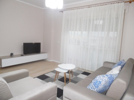 One bedroom apartment for rent in Don Bosko Street, Vizion Plus Complex in Tirana.