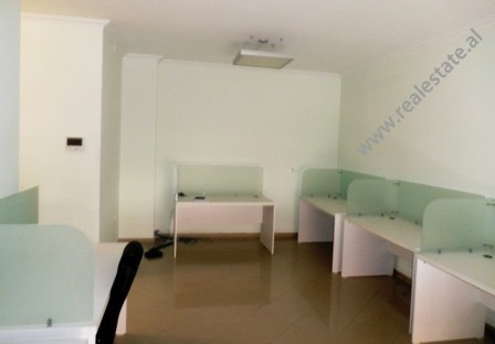 Office for rent in Gjergj Fishta Boulevard in Tirana. The space is situated on the second floor of