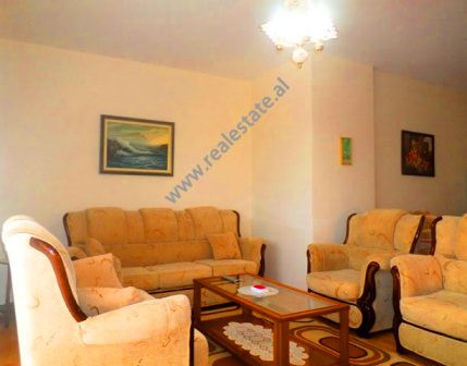 Apartment is located on the 5th floor of a modern building.
