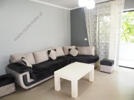 One bedroom apartment for rent close to Vasil Shanto School in Tirana. It is situated on the 3-rd f