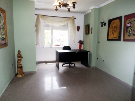 Office space for rent close to Vesa Center in Tirana. The apartment is situated on the third floor