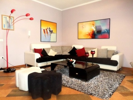 Two bedroom apartment for sale in Johan Fon Han street in Tirana close to Ismail Qemali high school.
