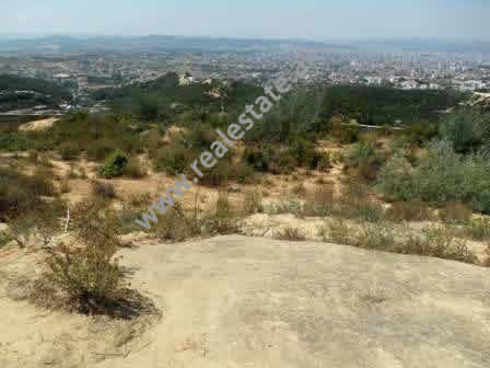 Land for sale in Tirana-Elbasan highway in Linze area.