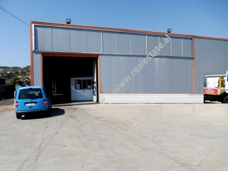 Warehouse for rent in Tirana-Durres highway in secondary street.