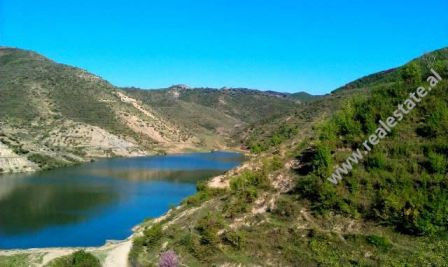 Land for sale in Peze Helmes, close to reservoir, in Tirana.