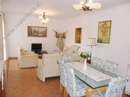 Two bedroom apartment for sale in Blloku area in Tirana. It is situated on the 7-th floor in a new