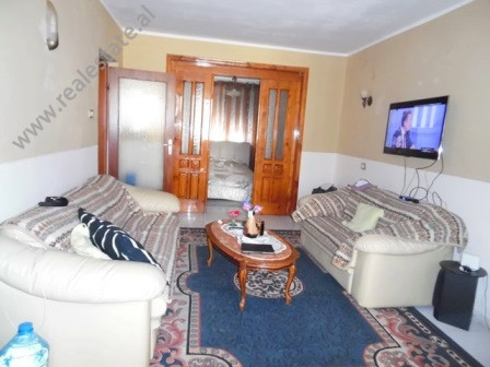 Two bedroom apartment for rent close to Blloku area in Tirana. It is situated on the 3-nd floor in