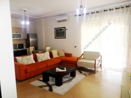 One bedroom apartment for rent in Pjeter Budi Street in Tirana.