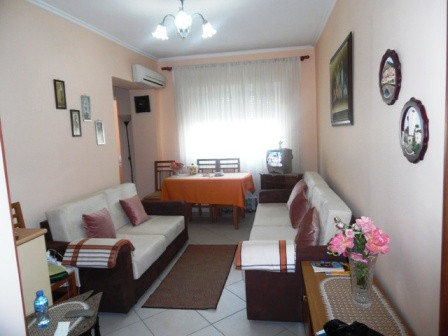 Apartment for sale close to Bllok area in Tirana. It is located in Perlat Rexhepi street, next to t