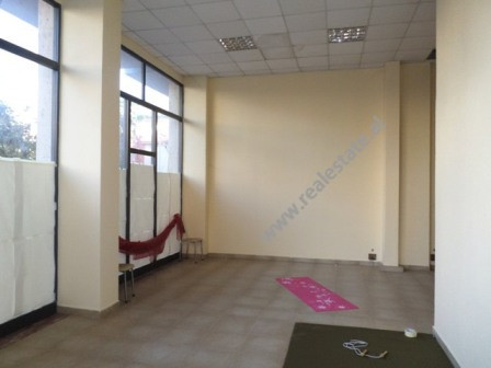 Store for rent in Beqir Luga street in Tirana.