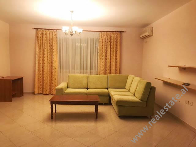 Three bedroom apartment for rent in Perlat Rexhepi Street. The flat is situated on the 8-th floor o