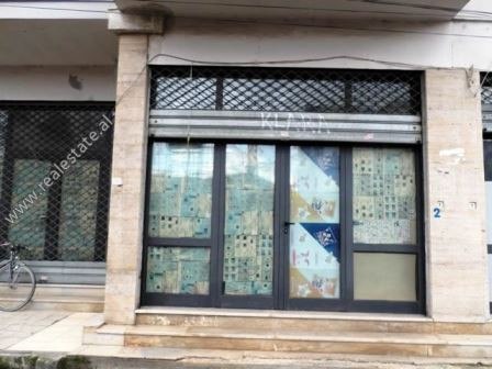 Store for rent close to Qemal Stafa Street in Tirana.