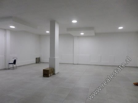 Store for rent close to Artificial Lake in Tirana. It is situated on the 1-st floor of a new buildi