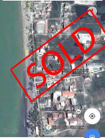 Land for sale near Shengjin – Kune Street in Lezha City. It is located about 80 meters away f