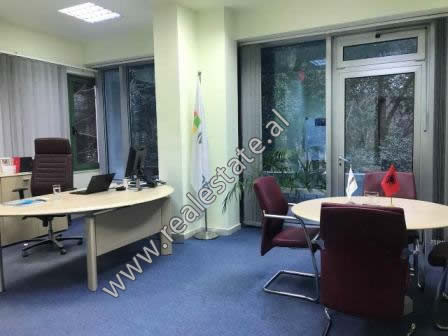 Office space for rent in Blloku area in Tirana. It is situated on the 2-th floor in a new building,