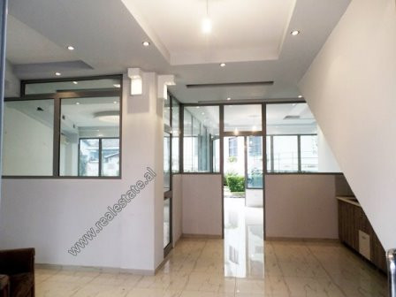 Office for rent in the beginning of Dibra Street in Tirana. It is positioned on the 1-st floor of a