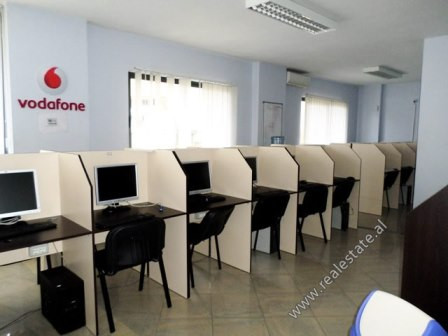 Office for rent close to Dibra Street in Tirana.