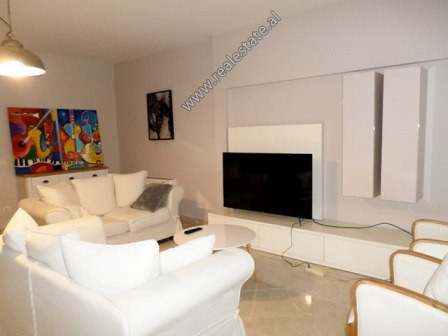 Modern apartment for rent close to Blloku area in Tirana. It is situated on the 7-th floor of a new