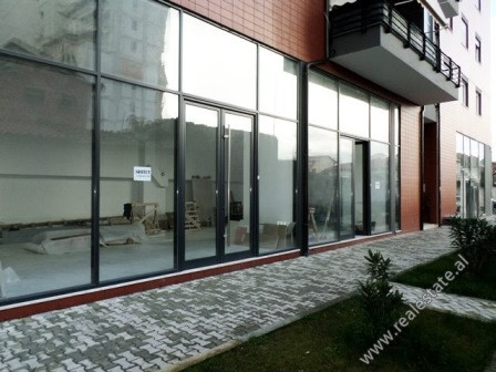 Store for sale close to Dibra Street in Tirana. It situated on the ground floor of a new building a