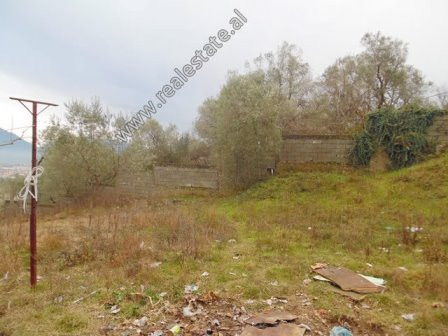 Land for sale in Ullishtes Street in Tirana.