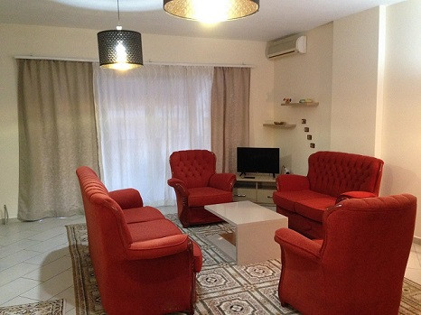 Apartment for rent in Elbasani Street in Tirana, at the beginning of Pjeter Budi Street.