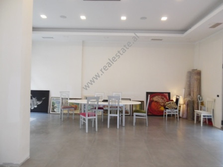 Store space for rent close to America embassy in Tirana. The store is situated on the first floor o