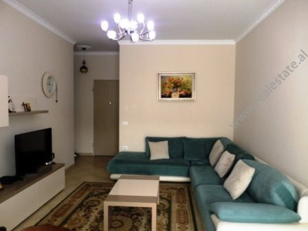 Apartment for rent in Tish Dahia Street in Tirana. It is situated on the 5-th floor in a new comple