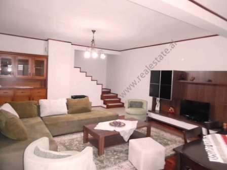 Duplex apartment for rent in Sun Hill Residence in Tirana.
