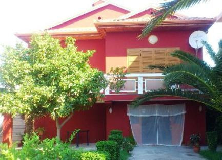 Villa for rent in Kavaja District in Albania. The villa which is made of two floors is located in S