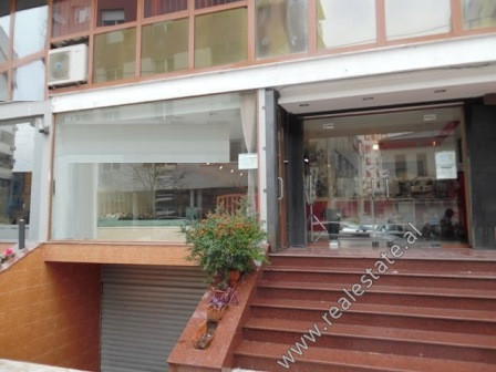 Store and basement for sale in Bogdaneve Street in Tirana. The store has an area of 82.7 m2 includi