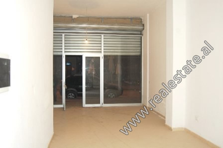 Store for sale in Engjell Mashi Street in Tirana.