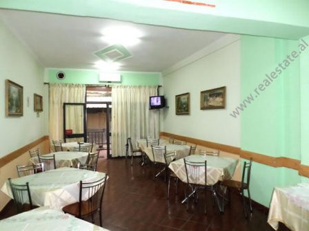 Coffee Bar for rent in Muhamet Gjollesha street in Tirana.