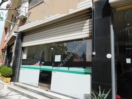 Store for rent close to Durresi street in Tirana.