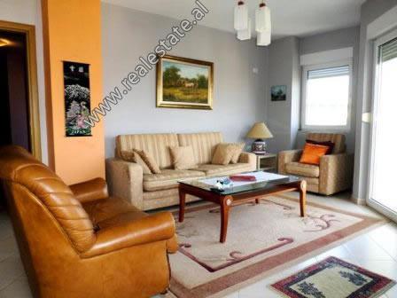 Apartament me qera ne rrugen Dervish Hima ne Tirane.  Ndodhet ne katin e 8-te nje pallati te ri, s