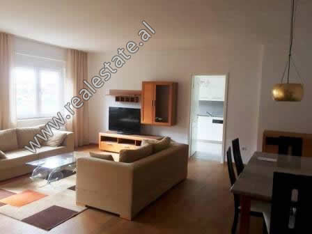 Three bedroom apartment for rent in Touch of Sun residence in Tirana. It is situated on the 3-th fl