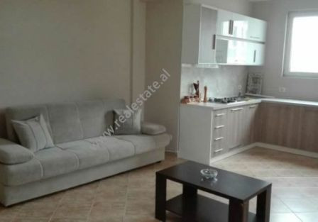 Two bedroom apartment for rent near Kavaja Street in Tirana. Positioned on the 7th floor of a new b