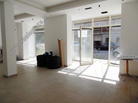 Store for sale in Frederik Shiroka Street in Tirana.