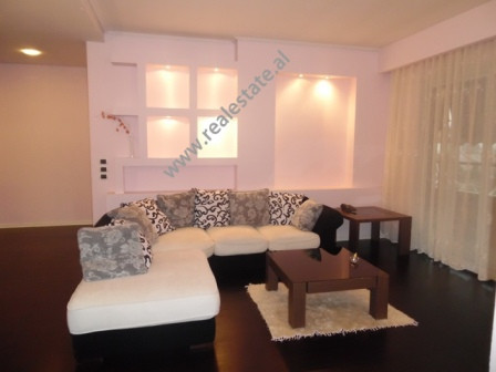 Two bedroom apartment for rent in Elbasani street in Tirana. It is situated on the sixth floor of a