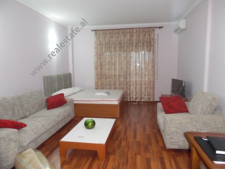 Studio for rent in Elbasani street in Tirana Albania.  The apartment is situated on the sixth floo