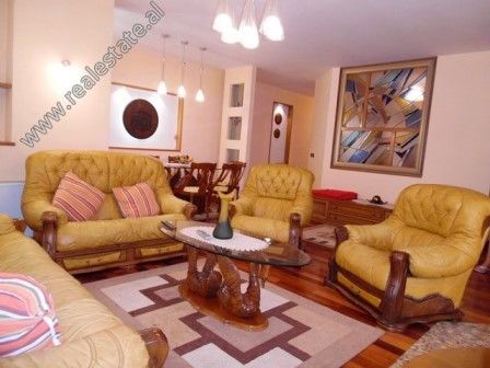 Three bedroom apartment for rent in Donika Kastrioti Street in Tirana.