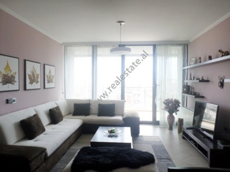 Three bedroom apartment close to Elbasani street in Tirana. It is situated on the 10th floor of a n