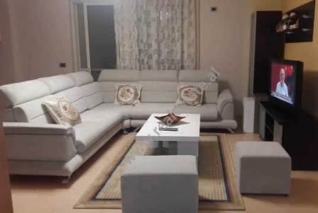 Two bedroom apartment for rent in Bilal Golemi Street in Tirana.