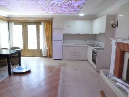 Apartament 1+1 me qera pranu parkut Rinia ne Tirane. Apartamenti ndodhet ne katin e tretete nje vil